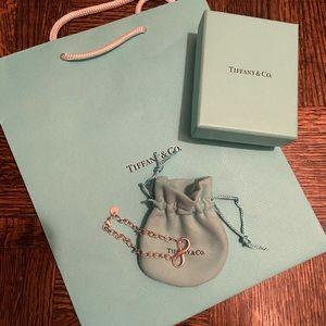 Authentic Tiffany infinity bracelet